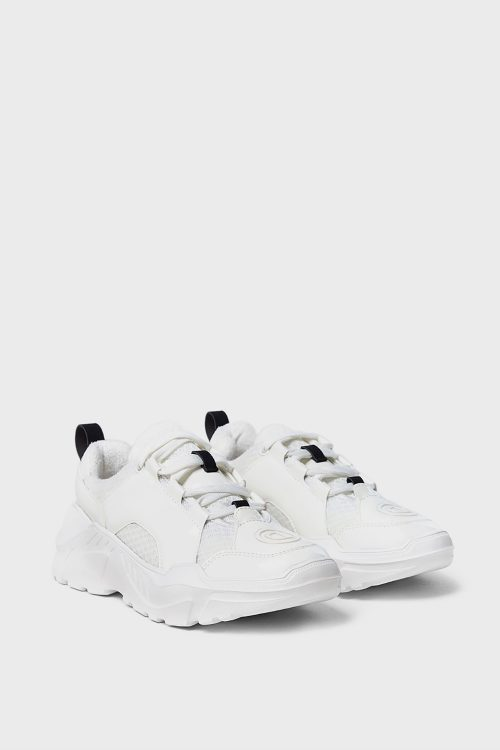 White Sport Sneakers