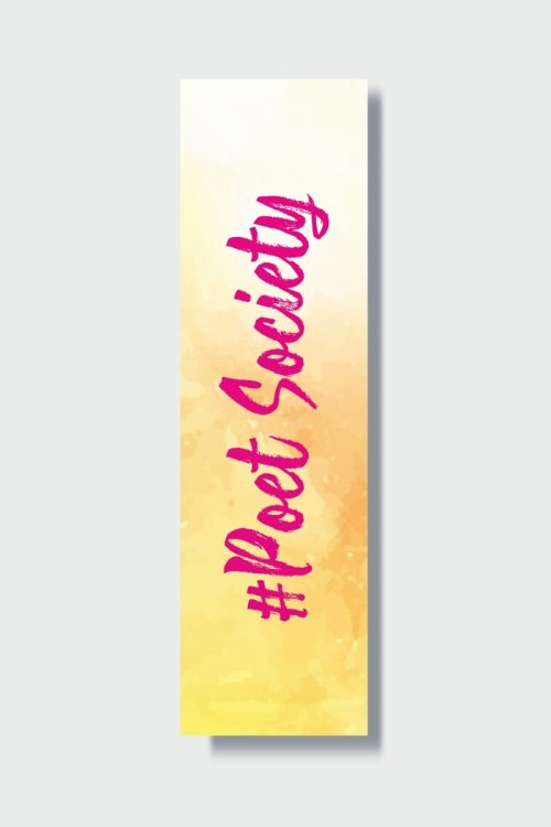 Hashtag Bookmark Collection – #poetsociety
