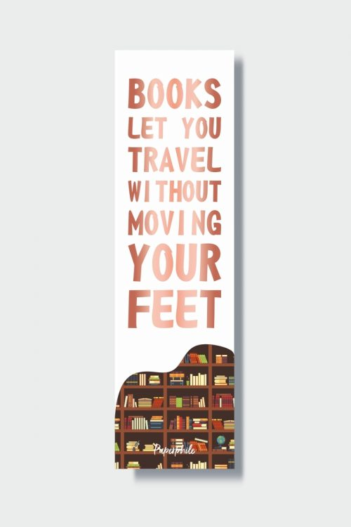 Books Let You Travel Bookmark