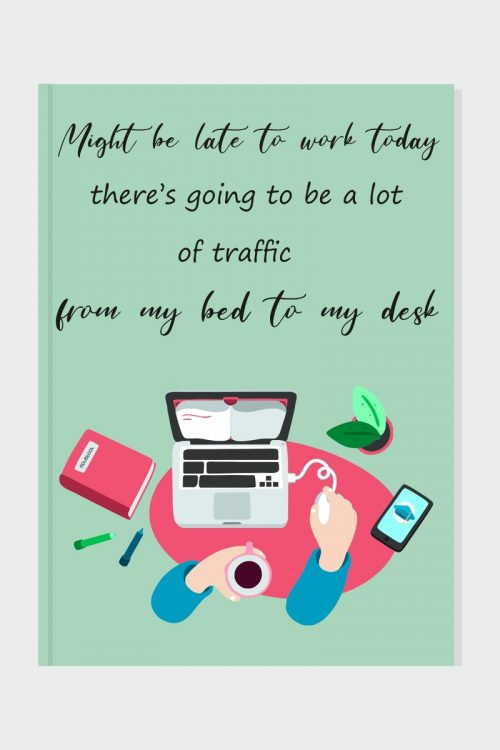 Work from Home Blank Journal