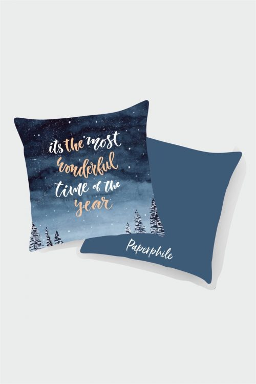 It's Most Wonderful Time of the Year Cushion Cover