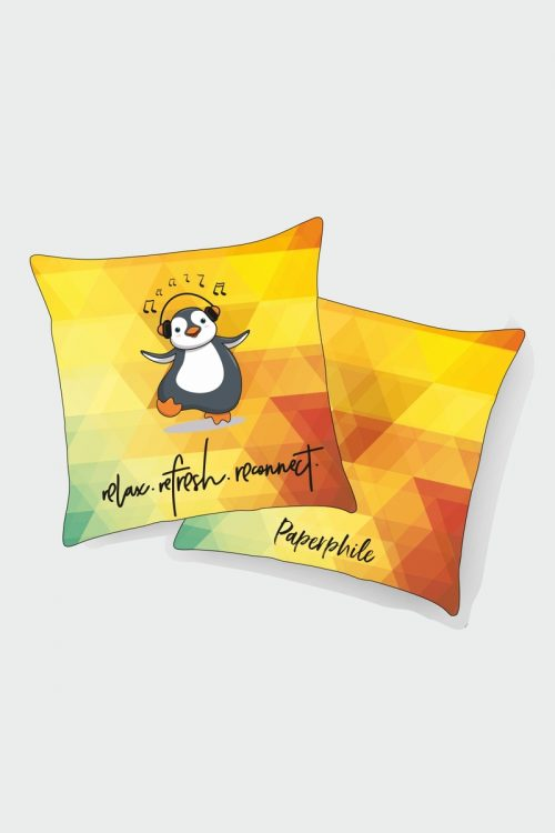 Relax , Refresh, Reconnect Cushion Cover