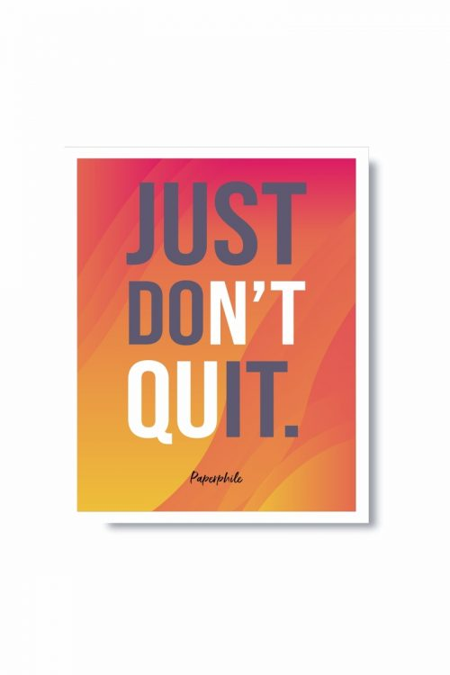 Just Do It – Frame
