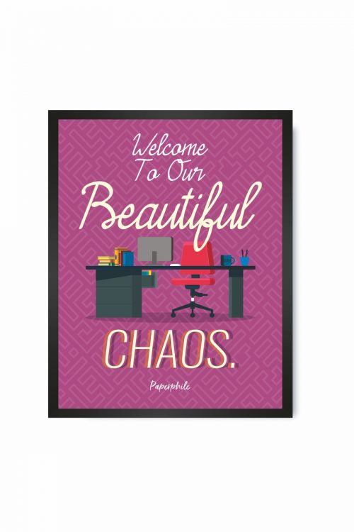 Welcome to our Chaos – FRAMES