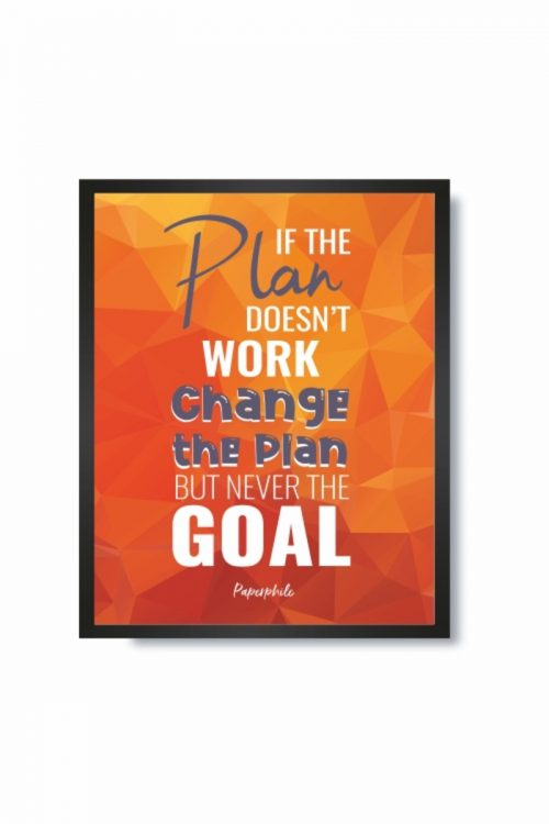 Change the Plan, Not the Goal – FRAMES