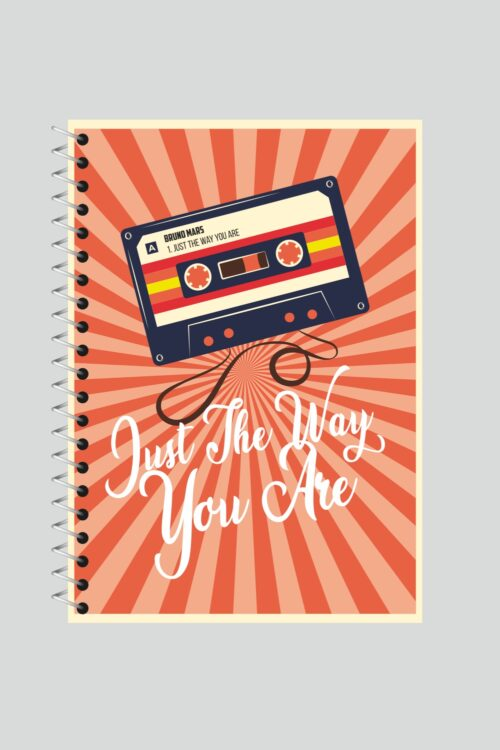 Just the Way You Are – Bruno Mars Spiral Notebook