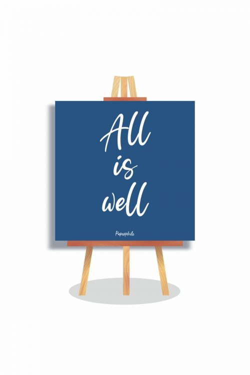 Buy All is Well Mini Canva online