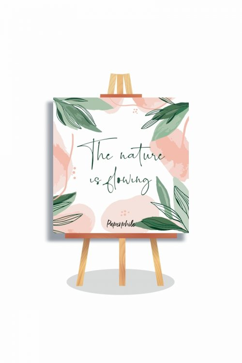 The Nature is Glowing Mini Canva Stand