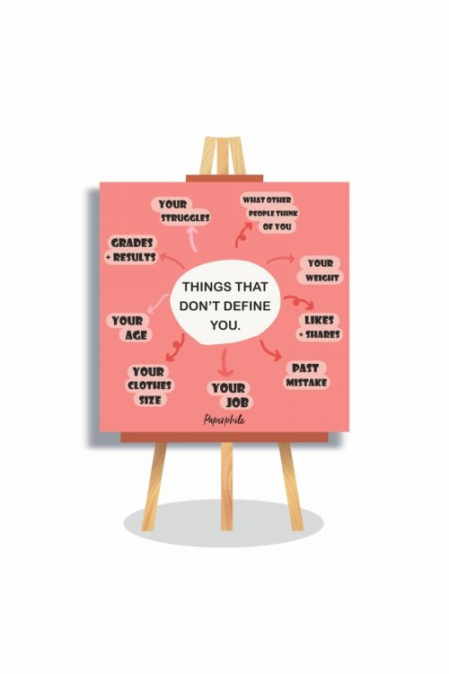 Things that don't Define You – Mini Canva Stand