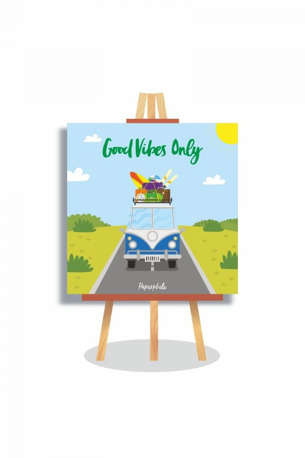 buy Good Vibes Only Mini Canva online