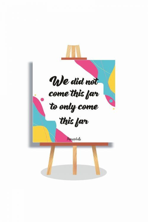 Buy We didn't come canva online