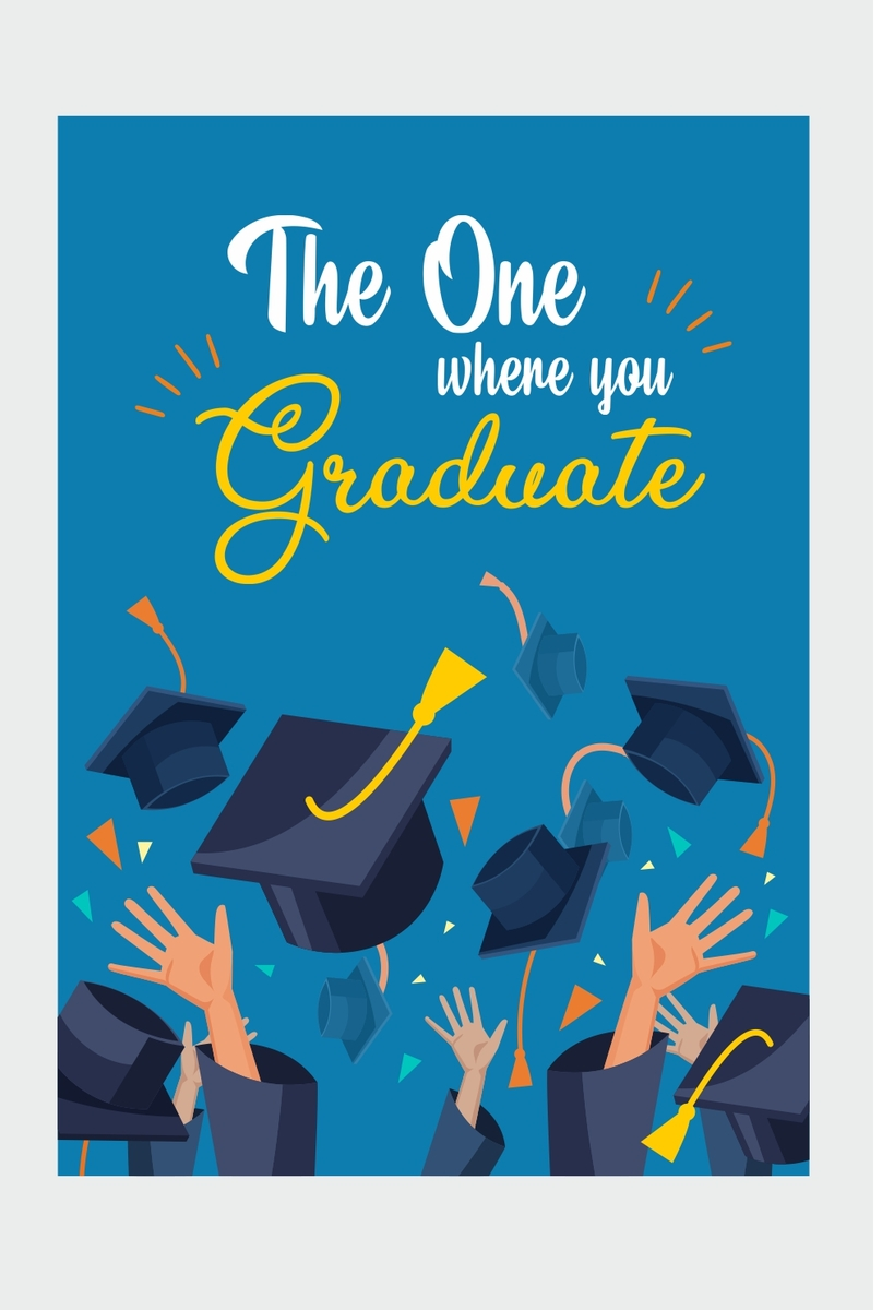 Graduate Farewell Ping Cards