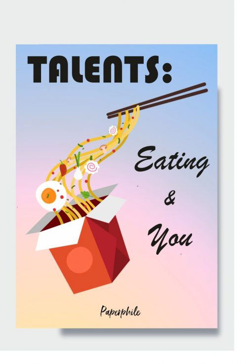 Foodie Talents Ping Card
