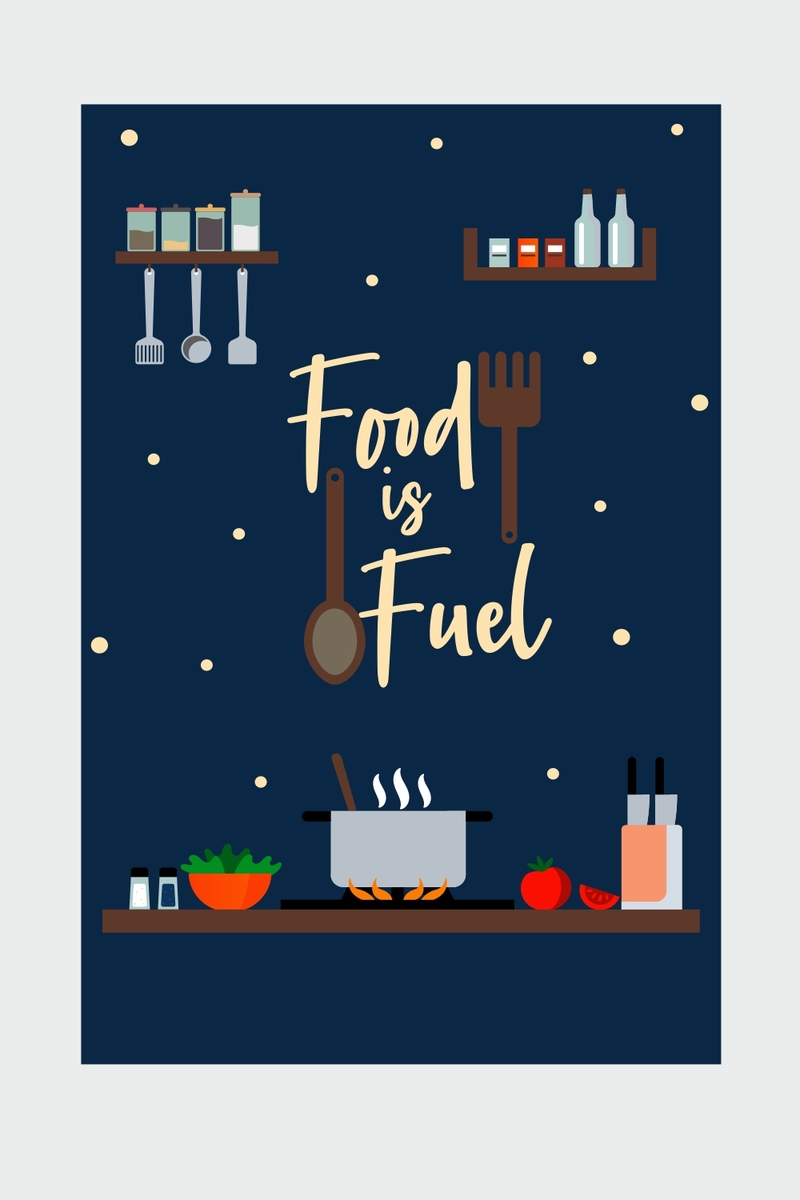 Food Is Fuel Pocket Diary
