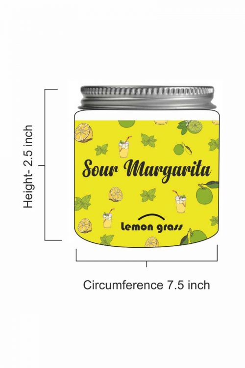 Sour Margarita – LemonGrass Scented Candle