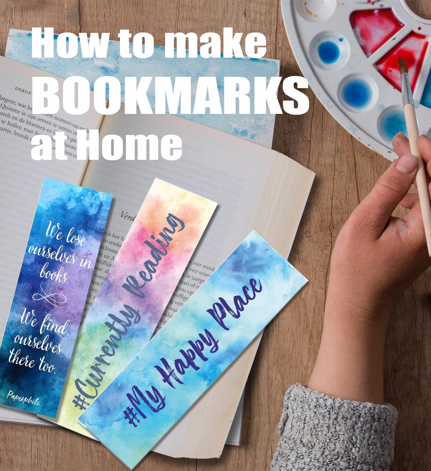 You are currently viewing How to Make Bookmarks at Home