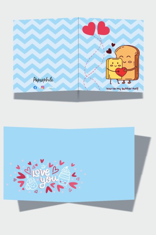 Butter-Half – Love Greeting Card