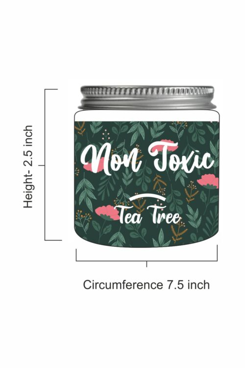 Non Toxic – Tea Tree Scented Soy Candle