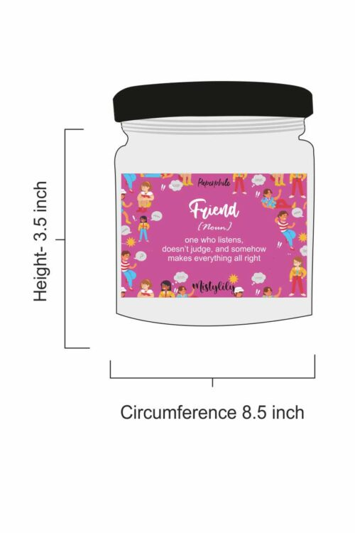 Friend – Misty Lily Scented Soy Candle