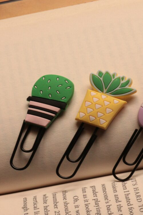 Pin Bookmark Combo of 4 – Plants