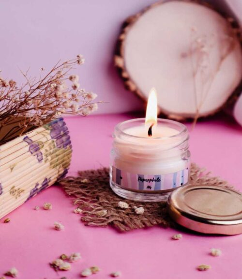 Lily Scented Soy Candle