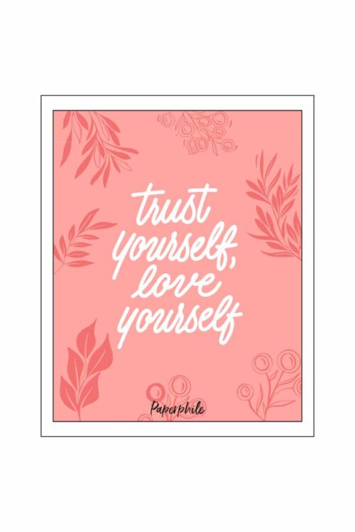 Love Yourself Wall/Desk Frame