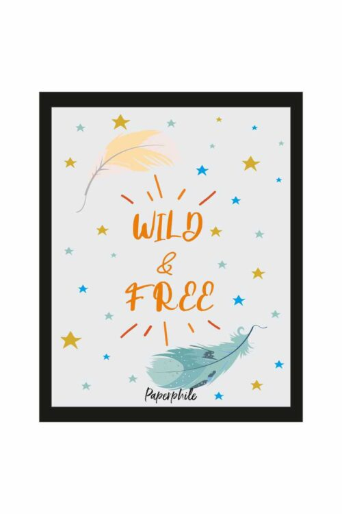 Wild and Free Wall/Desk Frame