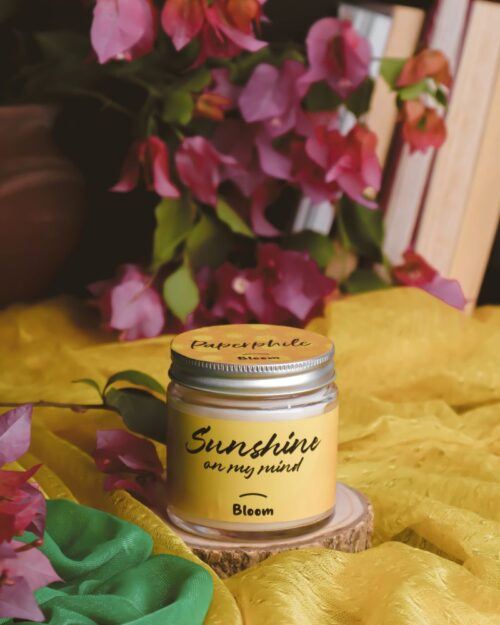 Sunshine on my Mind – Bloom Scented Soy Candle