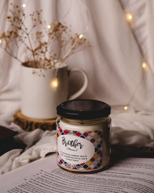 Brother Eucalyptus Pepper Scented Soy Candle