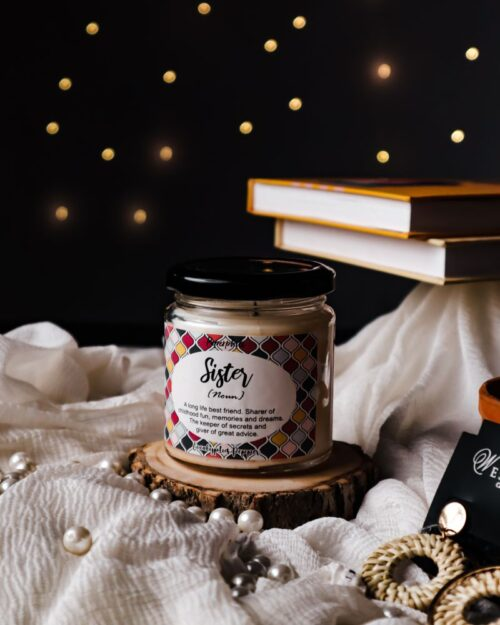 Sister – Eucalyptus Pepper Scented Soy Candle